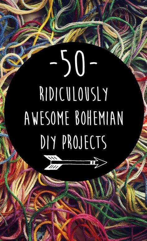 bohemian decor diy projects to try out this season 50 ridiculously awesome bohemian diy projects boho hippie