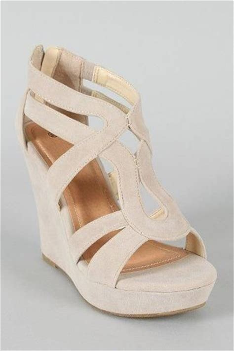 Sandal Selop Vogue Creme wedges open toe and white on