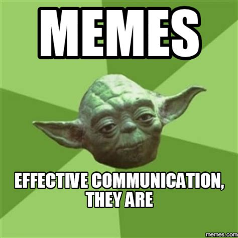 Communication Meme - currently 5 ways of culturally communicating