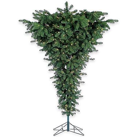 7 1 2 foot upside down pre lit christmas tree buybuy baby