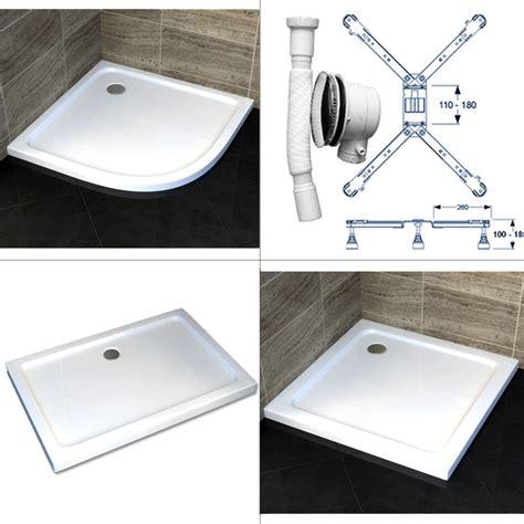 montage duschwanne flach duschtasse duschwanne flach acryl acrylwanne viertel eckig