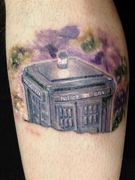 tardis tattoo design 14 doctor who tattoos pictures designs for of