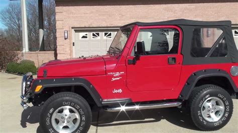 2000 Jeep For Sale Sold Hd 2000 Jeep Wrangler Sport Lifted For Sale