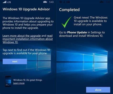 install windows 10 upgrade app microsoft reportedly working on windows 10 mobile upgrade