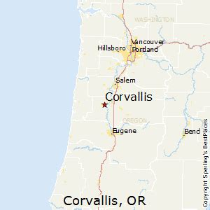 corvallis oregon map best places to live in corvallis oregon