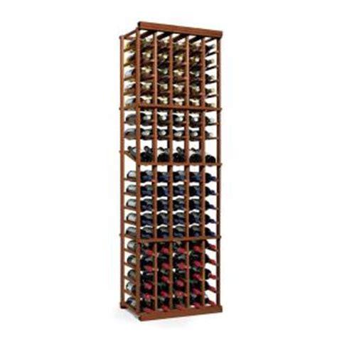 Lawn Mower Storage Rack by Wine Enthusiast N Finity 90 Bottle Walnut Floor Wine