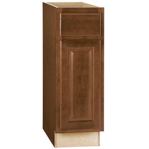 hton bay kitchen cabinets cognac hton bay hton assembled 12x34 5x24 in base kitchen