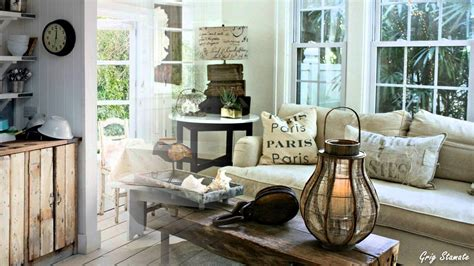 shabby chic interior decorating and design ideas
