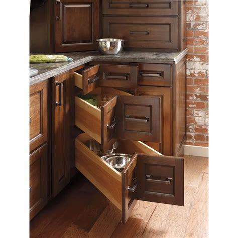 corner cabinet drawers kitchen adex awards design journal archinterious diamond cabinets three drawer corner cabinet by