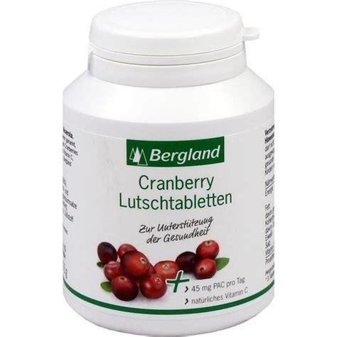 stöberland cranberry lutschtabletten 75 st cranberry preiselbeere