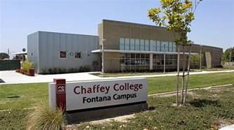 chaffey college fontana cus