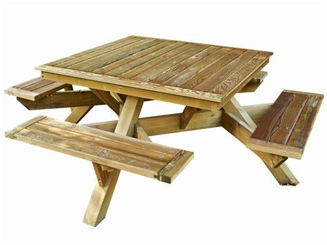 plan banc bois plan pour table de pique nique en bois whjxzx net