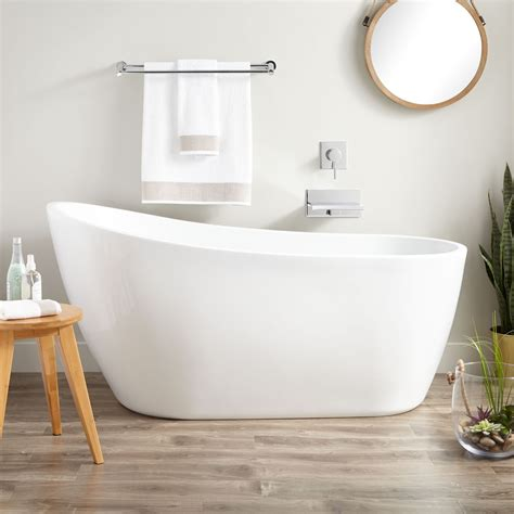 slipper bathtubs sheba acrylic slipper tub freestanding tubs bathtubs bathroom