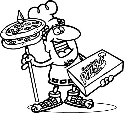 printable coloring pages pizza little caesars pizza coloring page wecoloringpage