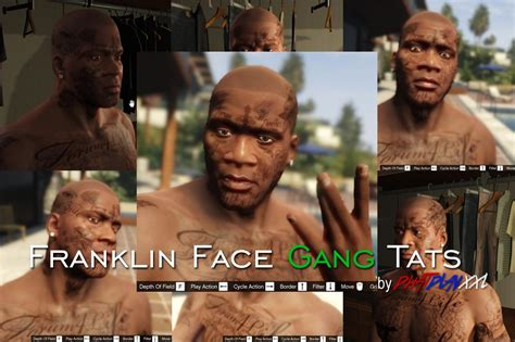 franklin gang tattoos gta5 mods com