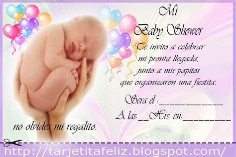 tarjetas de invitacion para imprimir baby shower gratis tarjetas de cumplea 241 os para imprimir invitacion de baby