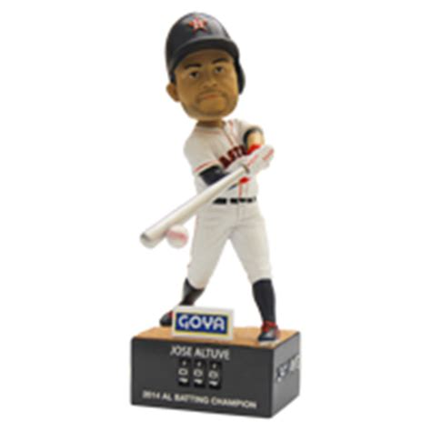 Houston Astros Giveaways - may 2 2015 houston astros vs seattle mariners jose altuve quot hit counter quot bobblehead