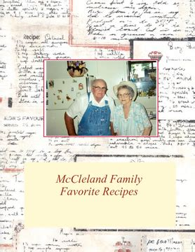 favorite family recipes books mccleland family favorite recipes book 170033 bookemon