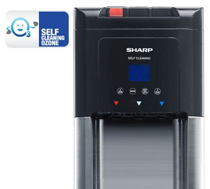 Water Dispenser Sharp Swd 70ehl Sl sharp water dispenser swd 75ehl sl lazada indonesia