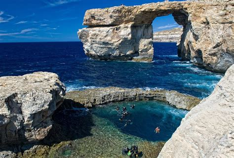 azure malta azure window gozo malta beautiful places best places