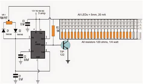 led pwm resistor 150 led pwm tubelight circuit