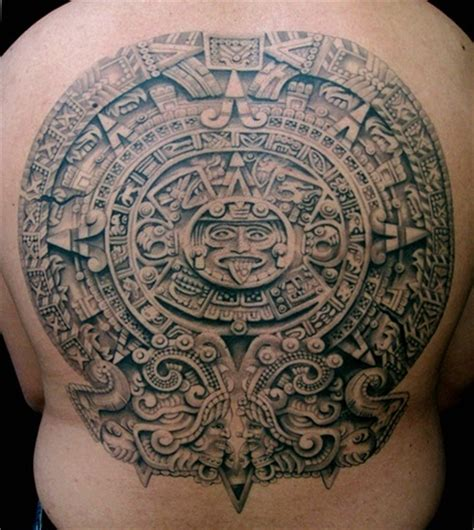 aztec calendar tribal tattoos 17 best images about azrec on aztec
