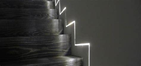 treppenhaus beleuchtung led led linear gt projekte gt privathaus kanada