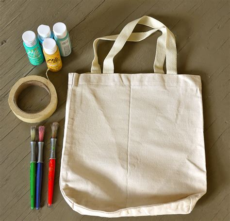 can you use acrylic paint on canvas bags make painted tote bags the handmade adventures of