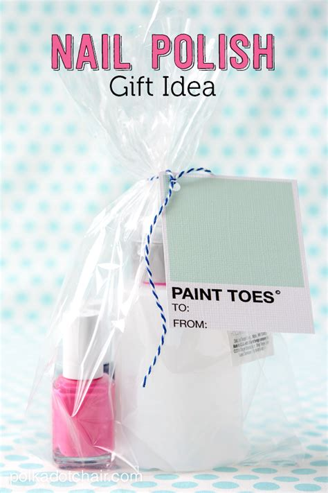Paint Idea Nail Polish Gift Ideas And Free Printable Gift Tags