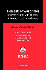 Elements Of War Crimes Under The Rome Statute Of The