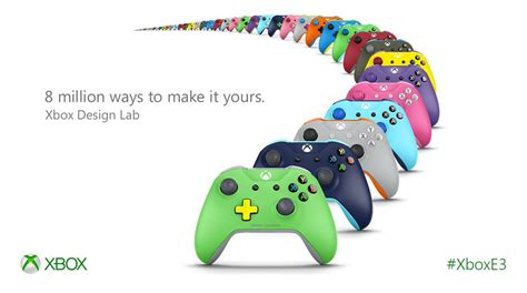 design lab xbox 360 controller xbox design lab lets you customize your controllers