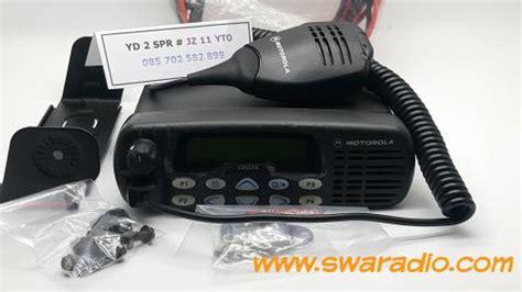 Rig Motorola Xir M3688 Vhf 45 Watt radio motorola gm338 vhf 45 watt second mulus swaradio