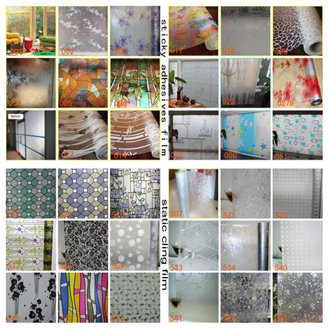 Decorative Static Cling Window by Privacy Window Static Cling Treatments Decorative