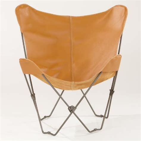 camel leather butterfly chair camel leather butterfly chair world market