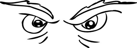 scary eyes coloring pages scary eyes clip art at clker com vector clip art online