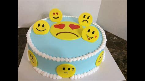decorar fotos con emojis pastel decorado con emojis decoracion con caritas