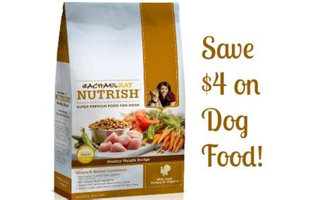 printable rachael ray dog food coupons 4 off rachael ray nutrish dog food southern savers