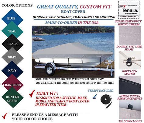 four winns boat covers custom fit boat cover four winns sundowner 205 cuddy bow