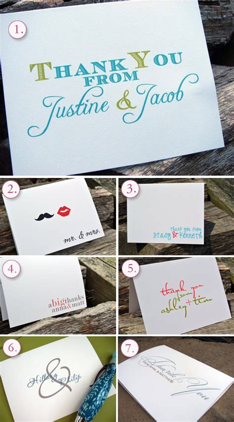 Thank You Giveaways - wedding giveaway 50 thank you cards from itsy bitsy paper