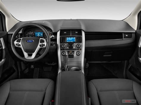ford edge pictures dashboard  news world report