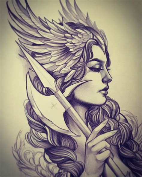 design dream guy way too excited about this valkyrie piece i get to do
