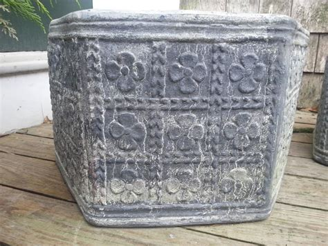 Lead Planters For Sale by Octagon Lead Planter For Sale At 1stdibs