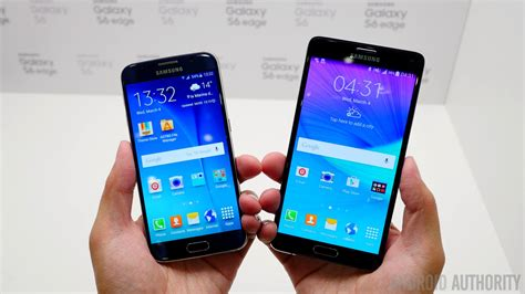 Samsung S6 Note samsung galaxy s6 vs samsung galaxy s5 look autos post