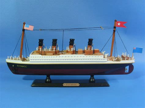 titanic boat information rms titanic model 14 quot assembled