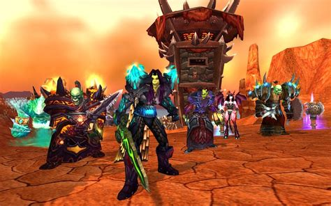 leaked images realms of the new world factions and blizzard is offering free faction changes for select