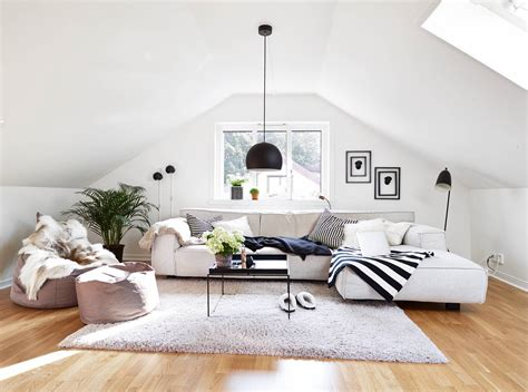 home living space 39 attic living rooms that really are the best adorable
