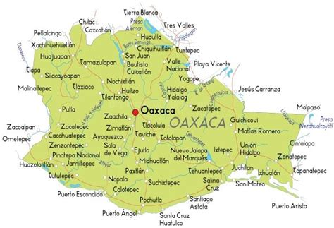 map  oaxaca oaxaca  province located