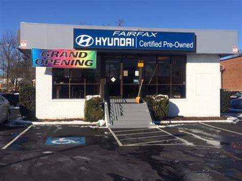 Fairfax Hyundai Service by Fairfax Hyundai Certifed Pre Owned Car Dealership In