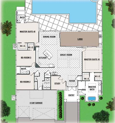 cape coral home floor plans house design plans