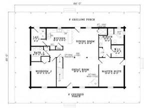 4 bedroom 3 5 bath house plans log style house plan 4 beds 3 baths 2741 sq ft plan 17 503
